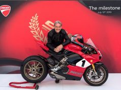 limited edition Ducati Panigale V4 25° Anniversario 916 motorcyclediaries
