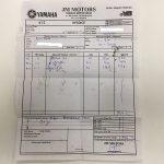 Yamaha-service-bill-motorcyclediaries