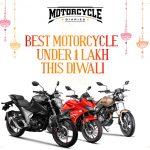 best bikes under 1 lakh diwali motorcyclediaries