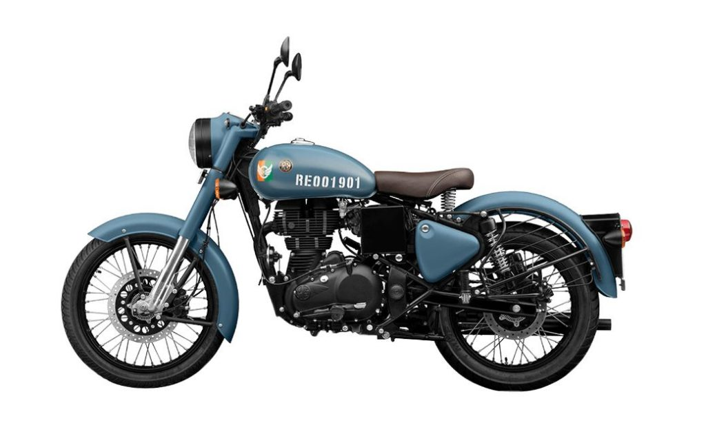 Royal Enfield Classic 350 Signals motorcyclediaries
