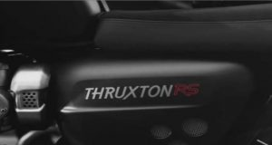 Triumph Thuxton RS teaser Motorcyclediaries