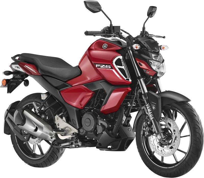 FZS FI BSVI RED Motorcyclediaries