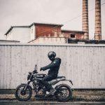 Husqvarna Svartpilen 401 side motorcyclediaries