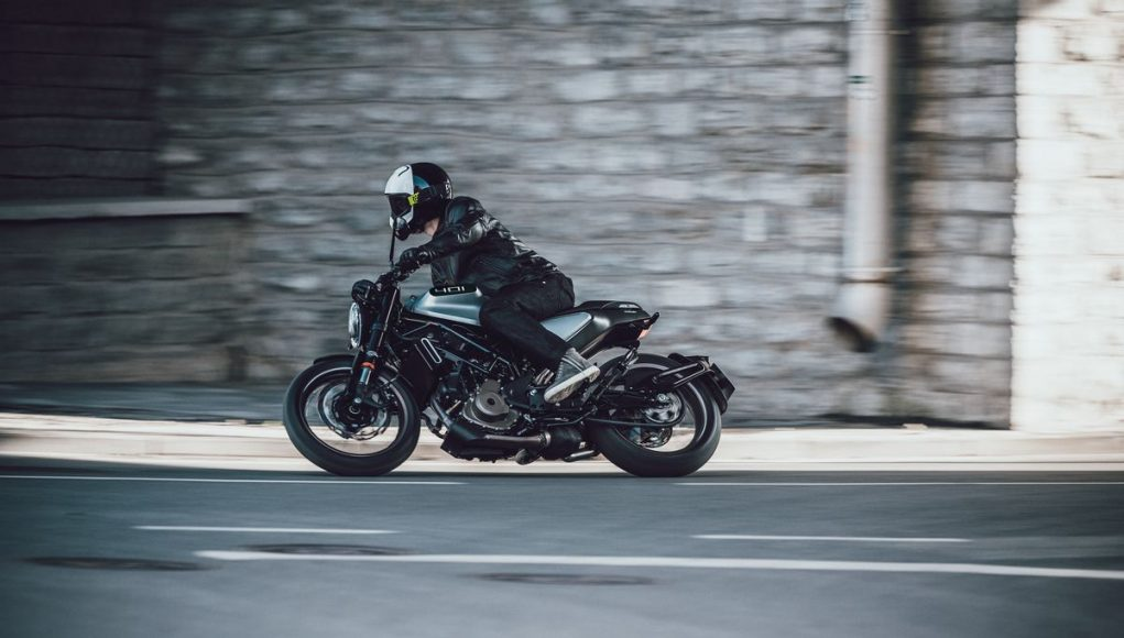 Husqvarna Vitpilen 401 lean motorcyclediaries