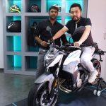 CFMoto showroom Motorcyclediaries