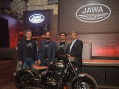L-R- Boman Irani, Co-Founder & Director-Classic Legends, Anupam Thareja, Co-Founder & Director-Classic Legends, Ashish Singh Joshi, CEO, Classic Legends Motorcyclediaries
