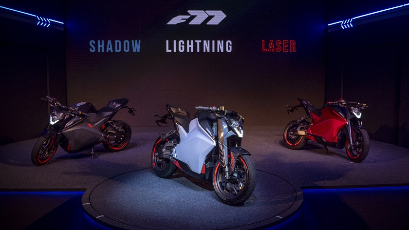 Ultraviolette Automotive_F77_L to R_Shadow Lightening and Laser
