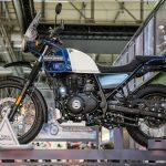 royal enfield himalayan blue motorcyclediaries