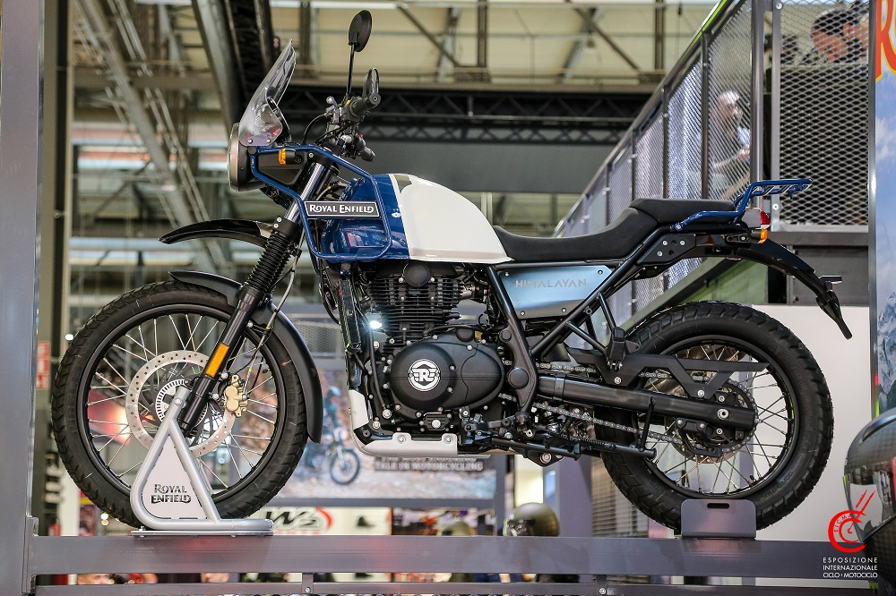 royal enfield himalayan blue motorcyclediaries