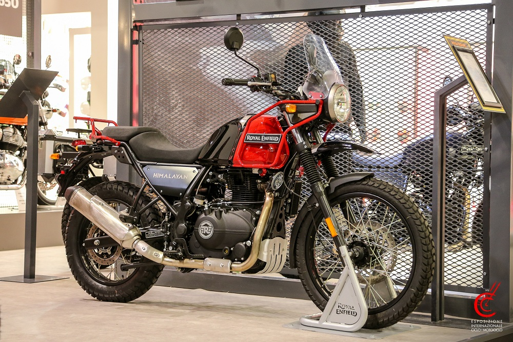 royal enfield himalayan new colour motorcyclediaries