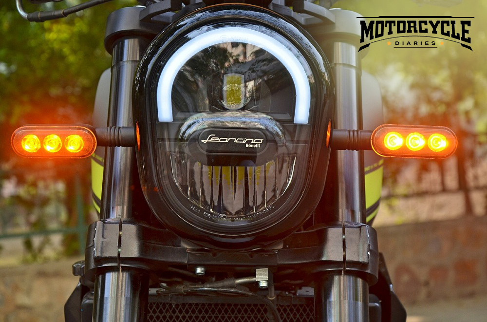benelli leoncino 250 headlight motorcyclediaries