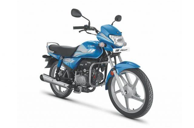 Hero HF Deluxe BS6 Motorcyclediaries
