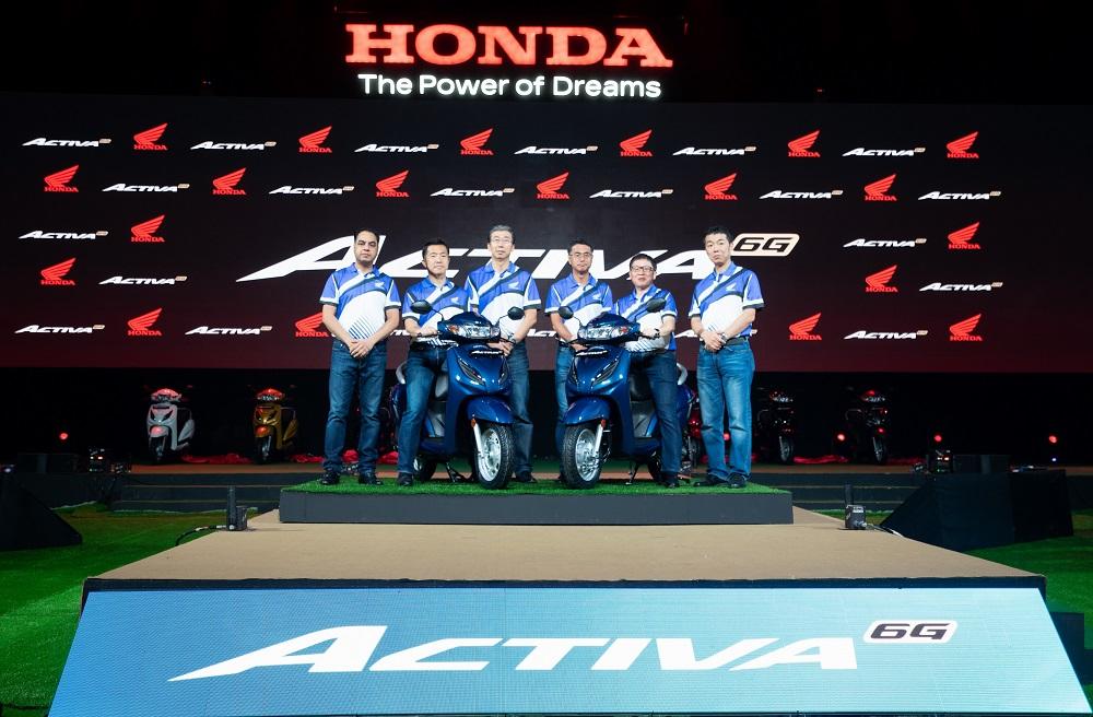 Honda Activa 6G BS6 Motorcyclediaries